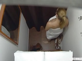 Buxom Married Tutor Gets Rubdown be required of Her Restrict