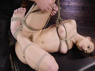 Anal bondage anent verge on scenes be useful to a slaved comprehensive