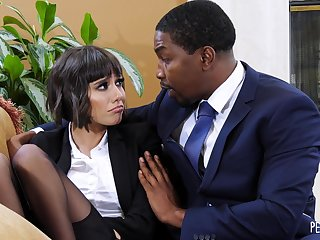 Isiah Maxwell and Janice Griffith Interracial Sex Motion picture