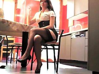 Basis fetish and stockings porn
