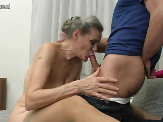 Granny suck added to granny fuck young boy