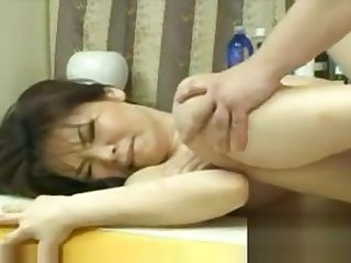 Japanese Girl Gets A Rub down Added to Fuck