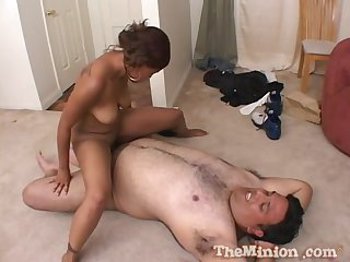 Man's heavy dick suits the deathly amateur with the right fucking