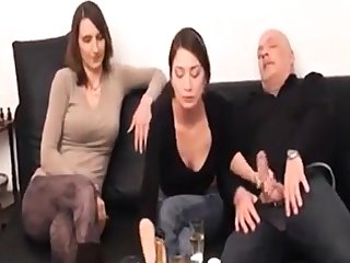 Ignored talking handjob